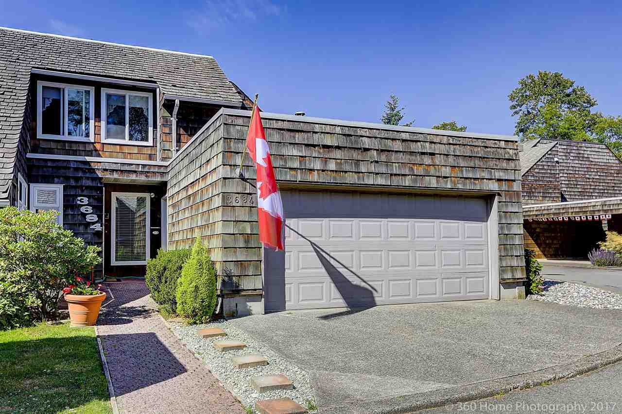 """Main Photo: 3684 BORHAM Crescent in Vancouver: Champlain Heights Townhouse for sale in """"THE UPLANDS"""" (Vancouver East)  : MLS®# R2183477"""