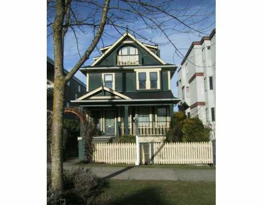 Main Photo: 2025 W 5TH Ave in Vancouver: Kitsilano House 1/2 Duplex for sale (Vancouver West)  : MLS®# V627966