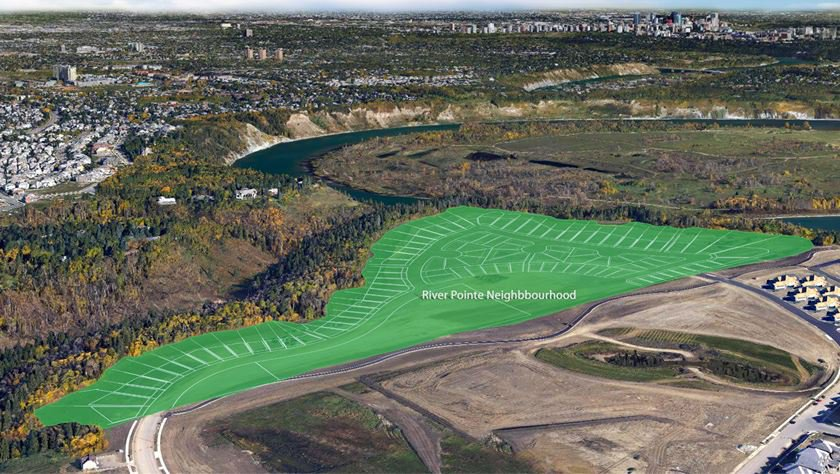 Main Photo: 4137 CAMERON HEIGHTS Point in Edmonton: Zone 20 Vacant Lot for sale : MLS®# E4106260