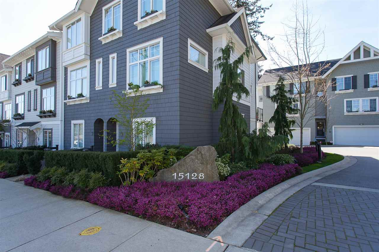 "Main Photo: 16 15128 24 Avenue in Surrey: Sunnyside Park Surrey Townhouse for sale in ""Semiahmoo Trail"" (South Surrey White Rock)  : MLS®# R2260695"
