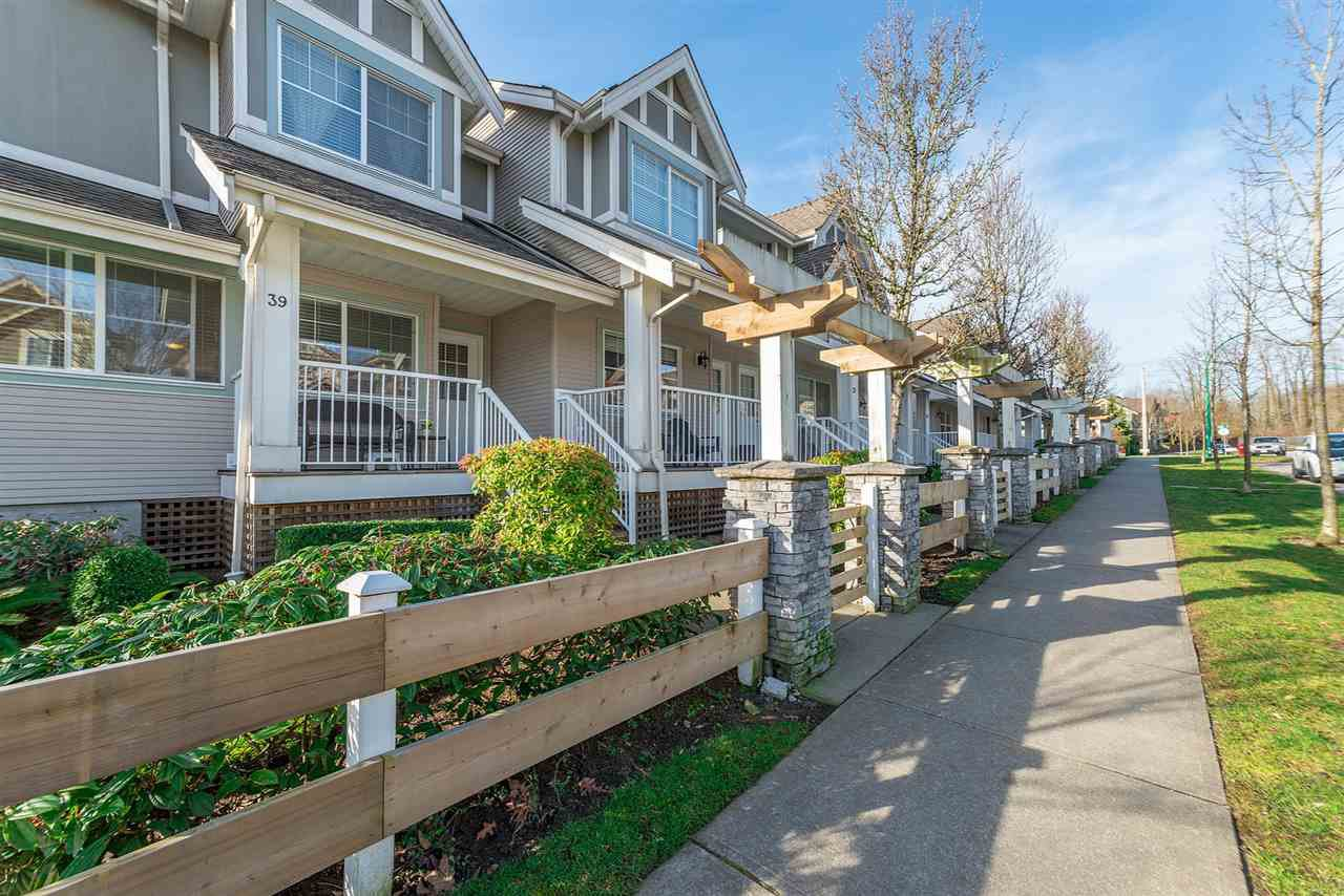 Main Photo: 39 6555 192A STREET in Surrey: Clayton Townhouse for sale (Cloverdale)  : MLS®# R2246261