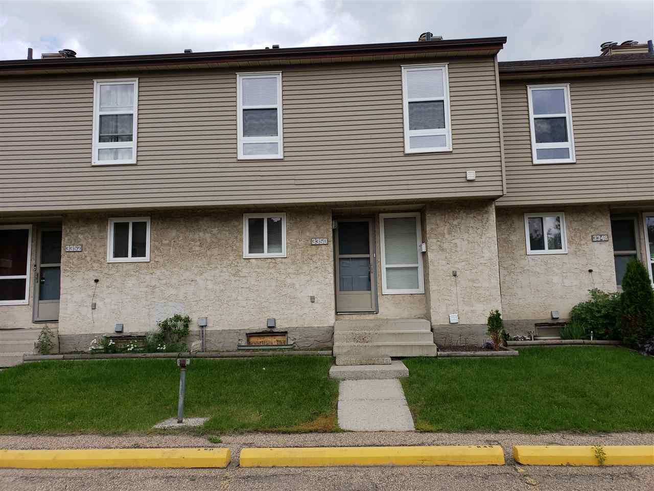 Main Photo: 3350 116A Avenue in Edmonton: Zone 23 Townhouse for sale : MLS®# E4164444
