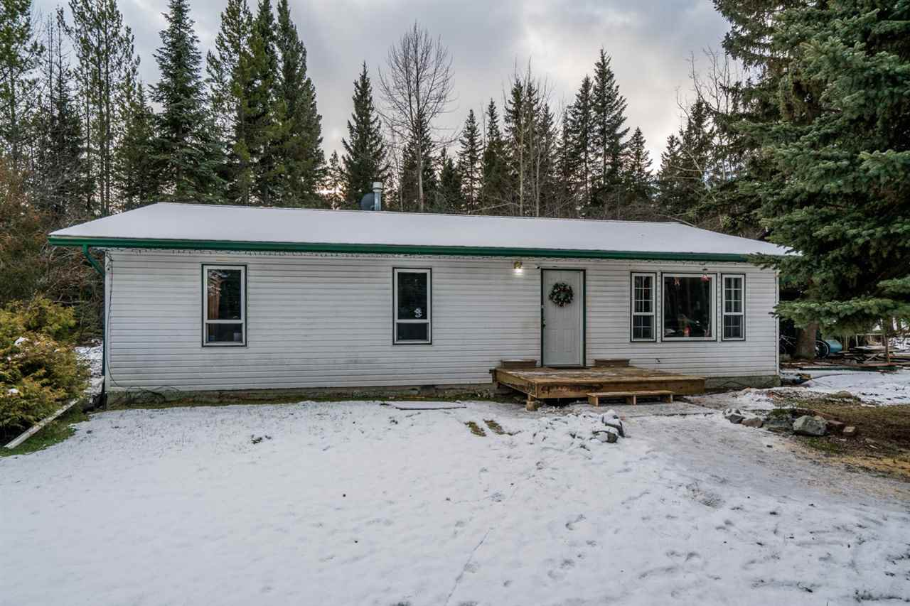 Main Photo: 16015 WRIGHT CREEK Road in Prince George: Hobby Ranches House for sale (PG Rural North (Zone 76))  : MLS®# R2421925