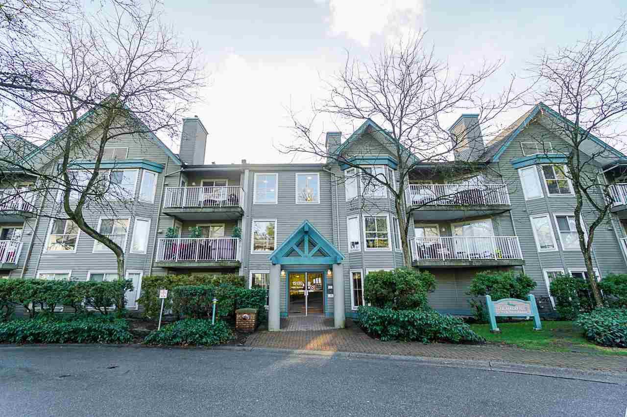 "Main Photo: 115 15130 108 Avenue in Surrey: Bolivar Heights Condo for sale in ""RIVERPOINTE"" (North Surrey)  : MLS®# R2431298"