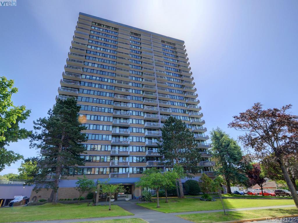 Main Photo: 803 647 Michigan Street in VICTORIA: Vi James Bay Condo Apartment for sale (Victoria)  : MLS®# 421755