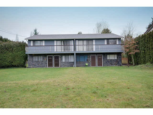 Main Photo: 1835 KING GEORGE BOULEVARD in Surrey: King George Corridor 1/2 Duplex for sale (South Surrey White Rock)  : MLS®# F1430319