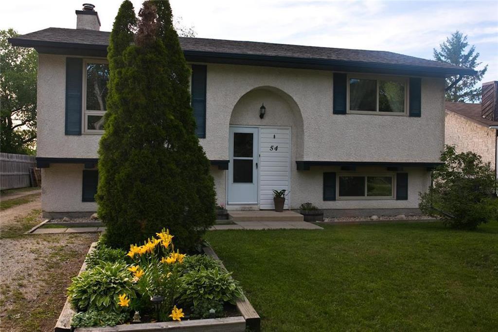 Main Photo: 54 Donan Street in Winnipeg: Riverbend Residential for sale (4E)  : MLS®# 202016959