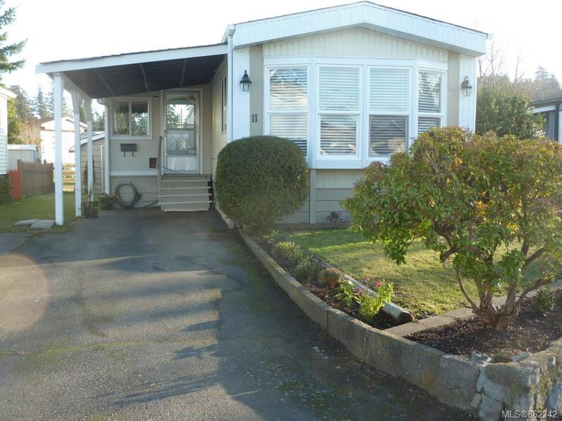 Main Photo: 11 158 Cooper Rd in : VW Songhees Manufactured Home for sale (Victoria West)  : MLS®# 862242