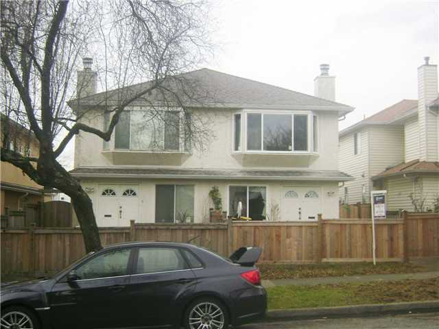 Main Photo: 8409 FRENCH Street in Vancouver: Marpole House 1/2 Duplex for sale (Vancouver West)  : MLS®# V921439