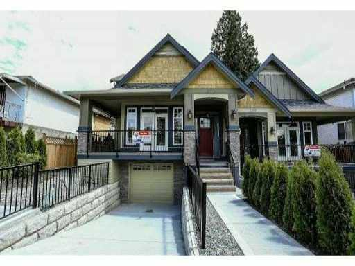 Main Photo: 291 TENBY Street in Coquitlam: Coquitlam West House 1/2 Duplex for sale : MLS®# V1034742