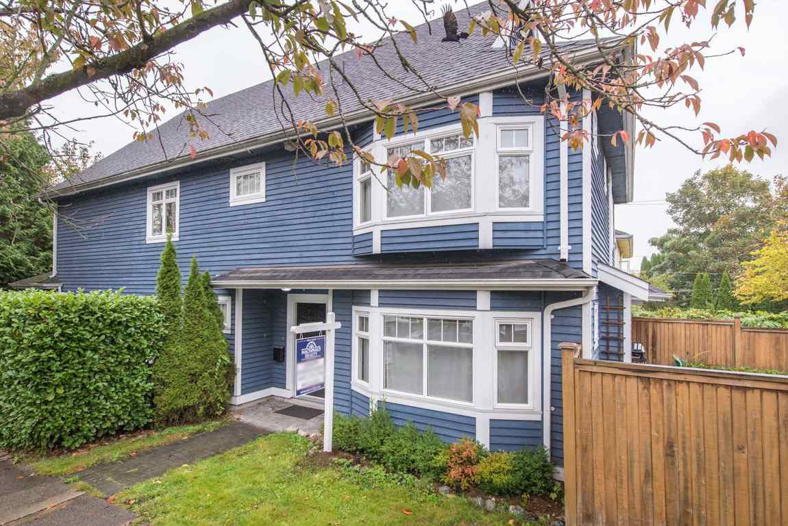 Main Photo: 2608 ST. CATHERINES Street in Vancouver: Mount Pleasant VE House 1/2 Duplex for sale (Vancouver East)  : MLS®# R2009853