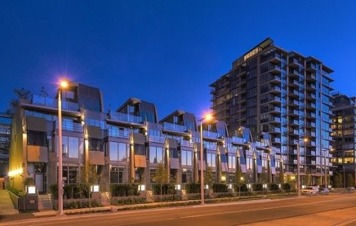 """Main Photo: 256 W 1ST Avenue in Vancouver: False Creek Townhouse for sale in """"THE JAMES"""" (Vancouver West)  : MLS®# R2132636"""