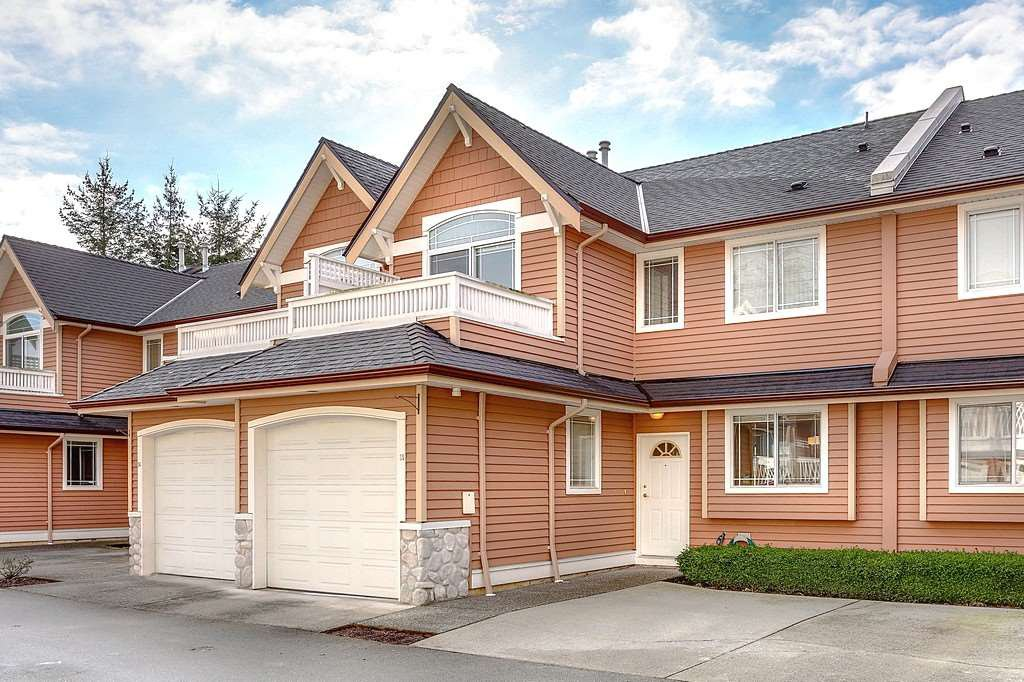 "Main Photo: 35 1506 EAGLE MOUNTAIN Drive in Coquitlam: Westwood Plateau Townhouse for sale in ""RIVER ROCK BEND"" : MLS®# R2133561"