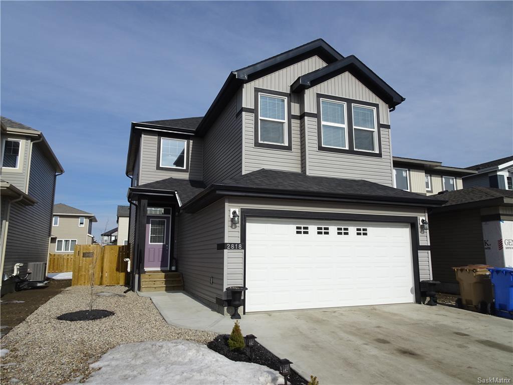 Main Photo: 2818 MAKOWSKY Crescent in Regina: HS-Hawkstone Single Family Dwelling for sale (Regina Area 01)  : MLS®# 598797