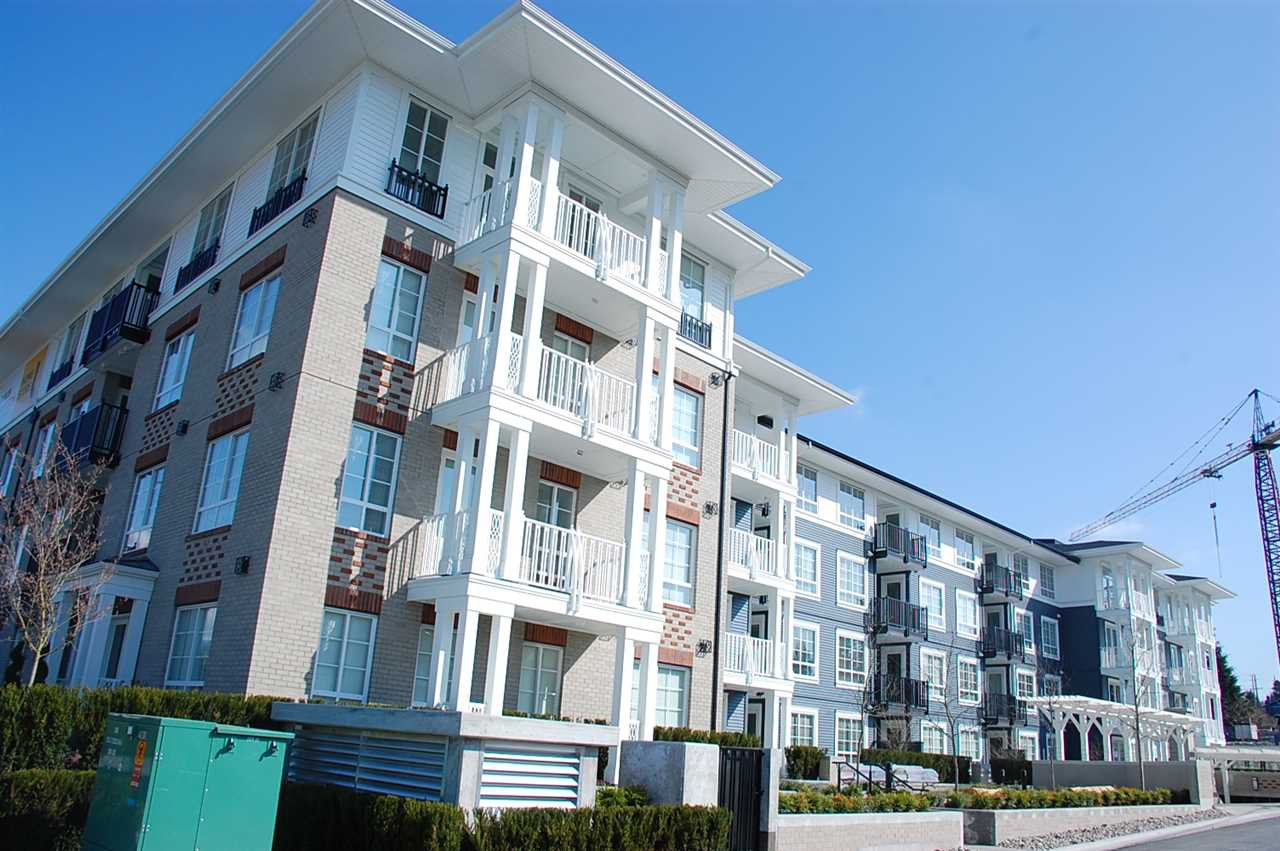 "Main Photo: 409 608 COMO LAKE Avenue in Coquitlam: Coquitlam West Condo for sale in ""GEORGIA"" : MLS®# R2155239"