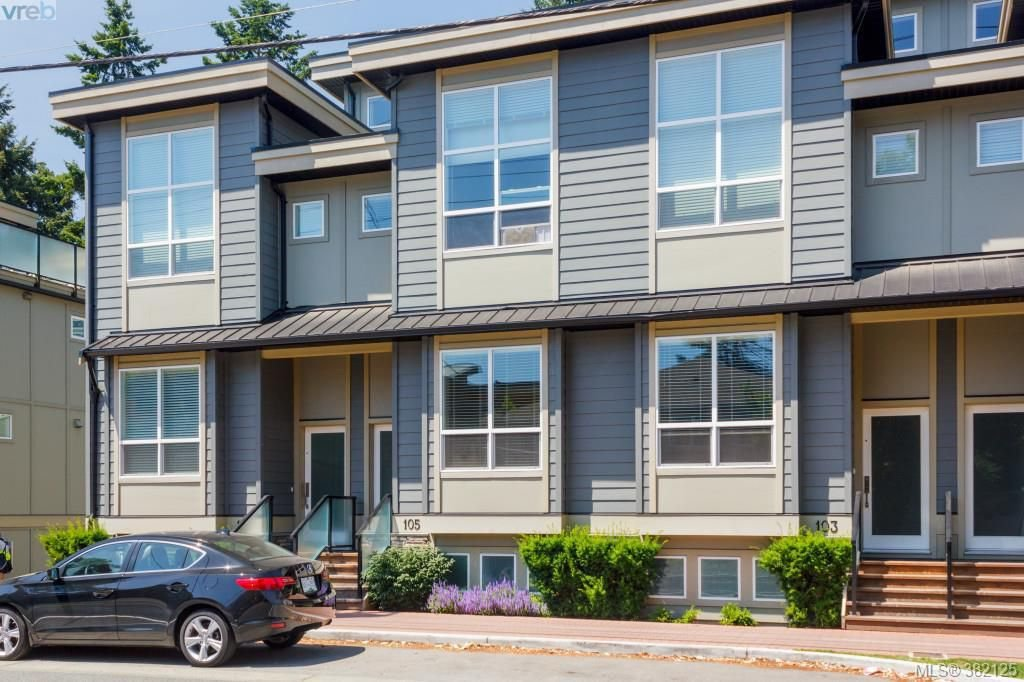 Main Photo: 105 2726 Peatt Road in VICTORIA: La Langford Proper Townhouse for sale (Langford)  : MLS®# 382125