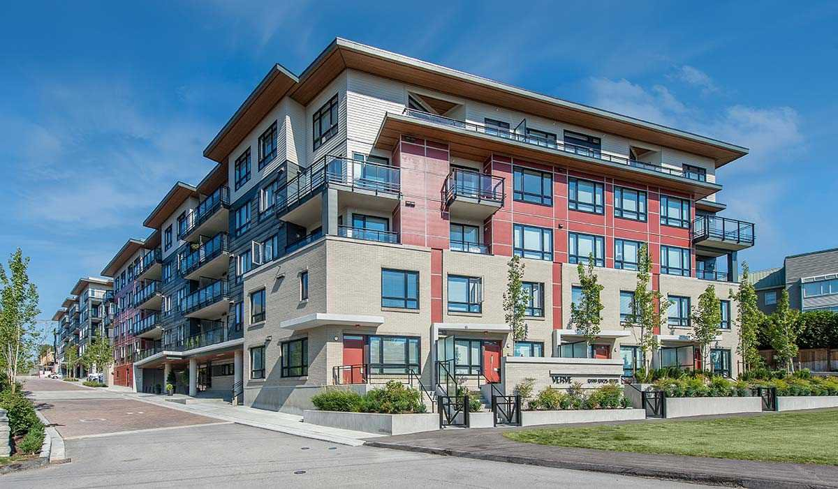 "Main Photo: 306 13919 FRASER Highway in Surrey: Whalley Condo for sale in ""Verve"" (North Surrey)  : MLS®# R2325752"