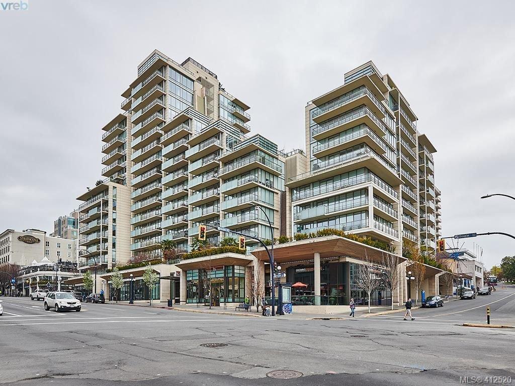 Main Photo: 501 708 Burdett Ave in VICTORIA: Vi Downtown Condo for sale (Victoria)  : MLS®# 818014