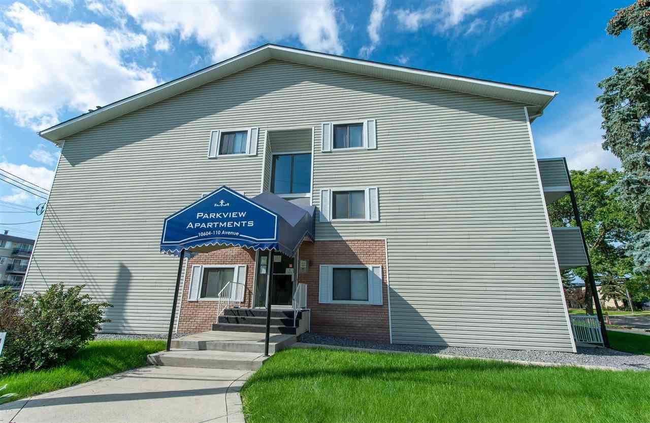 Main Photo: 303 10604 110 Avenue in Edmonton: Zone 08 Condo for sale : MLS®# E4166527