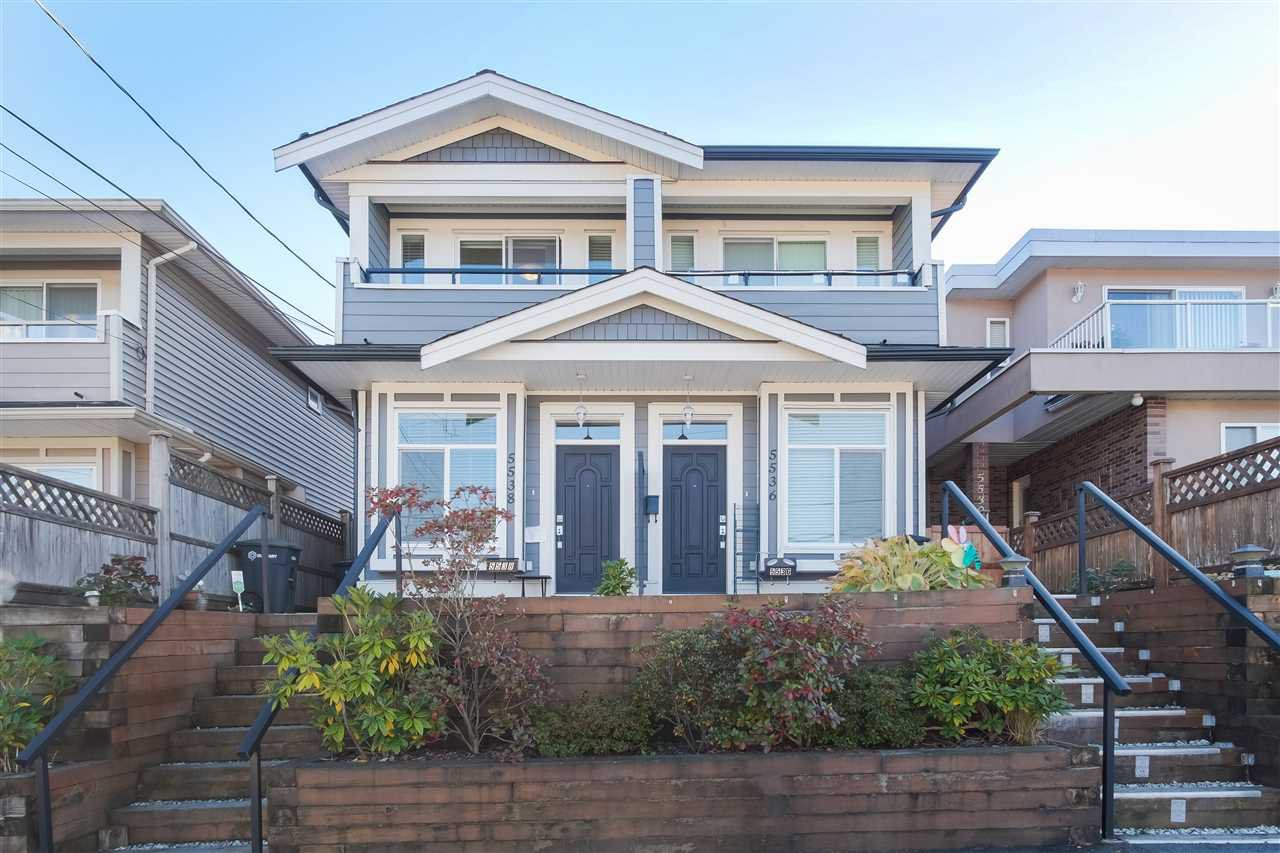 Main Photo: 5538 NORFOLK Street in Burnaby: Central BN House 1/2 Duplex for sale (Burnaby North)  : MLS®# R2412163