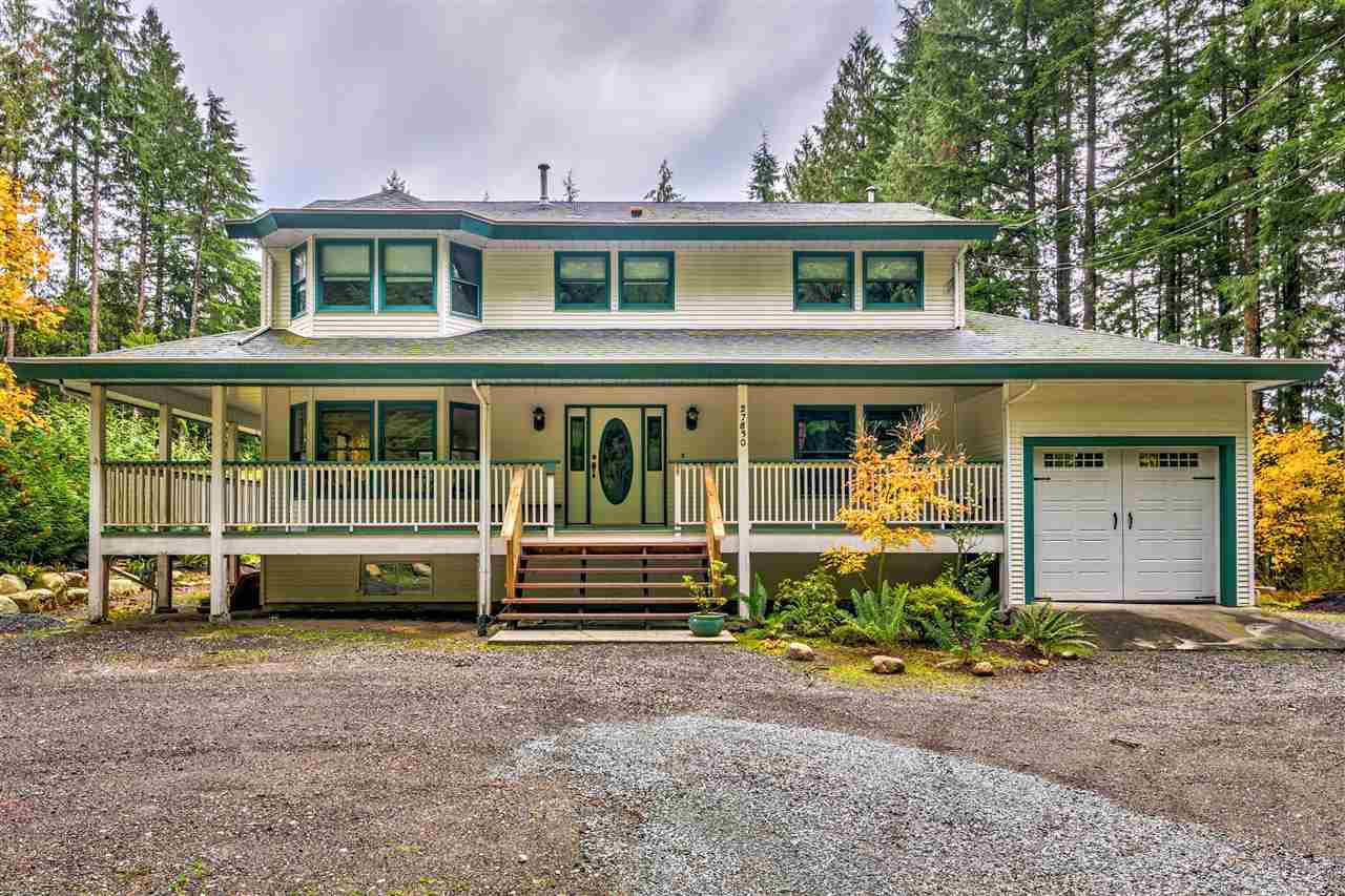 Main Photo: 27830 LAUREL Place in Maple Ridge: Northeast House for sale : MLS®# R2415483