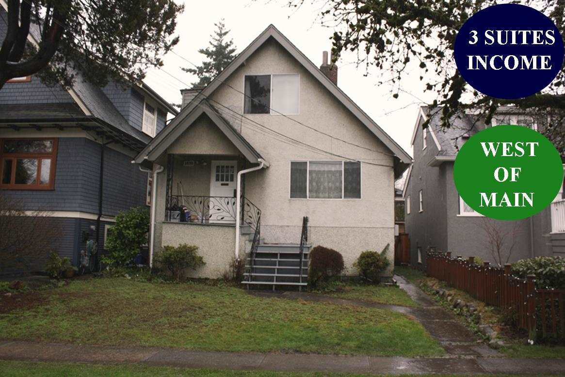 Main Photo: 3782 ONTARIO Street in Vancouver: Main House for sale (Vancouver East)  : MLS®# R2433398