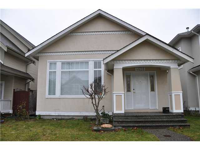 Main Photo: 4628 BLAIR Drive in Richmond: West Cambie House for sale : MLS®# V927547