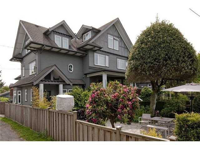 Main Photo: 1740 BALACLAVA Street in Vancouver: Kitsilano Townhouse for sale (Vancouver West)  : MLS®# V1048798