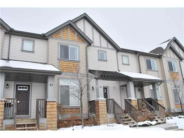Main Photo: 41 300 EVANSCREEK CRT NW in Calgary: Evanston Townhouse  : MLS®# C3545193