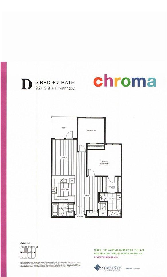 "Photo 17: Photos: 302 15628 104TH Avenue in Surrey: Guildford Condo for sale in ""CHROMA"" (North Surrey)  : MLS®# F1448440"