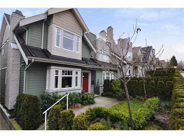 Main Photo: 4468 W 8TH AVENUE in : Point Grey Townhouse for sale : MLS®# V940064