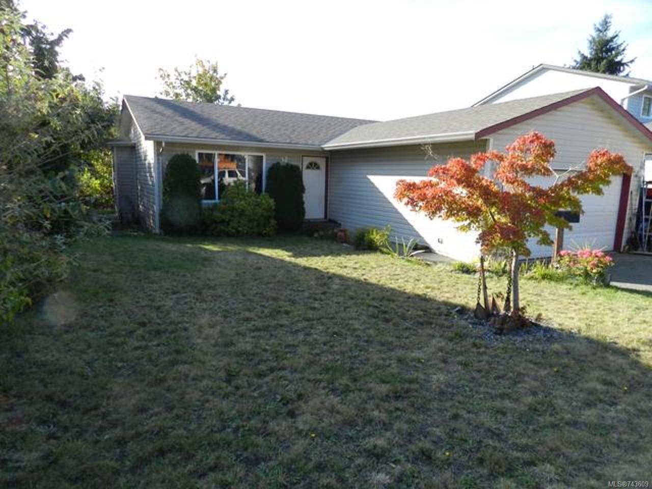 Main Photo: 2465 CRYSTAL BROOK Way in NANAIMO: Na Diver Lake House for sale (Nanaimo)  : MLS®# 743609