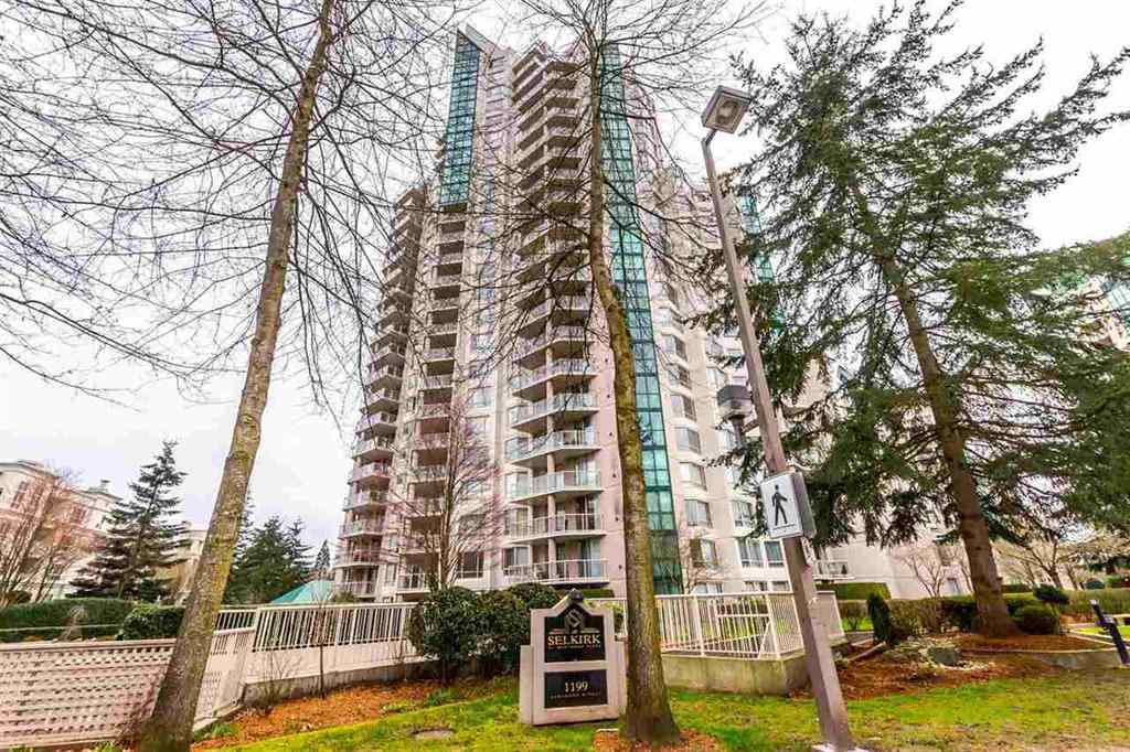 "Main Photo: 1304 1199 EASTWOOD Street in Coquitlam: North Coquitlam Condo for sale in ""THE SELKIRK"" : MLS®# R2166032"