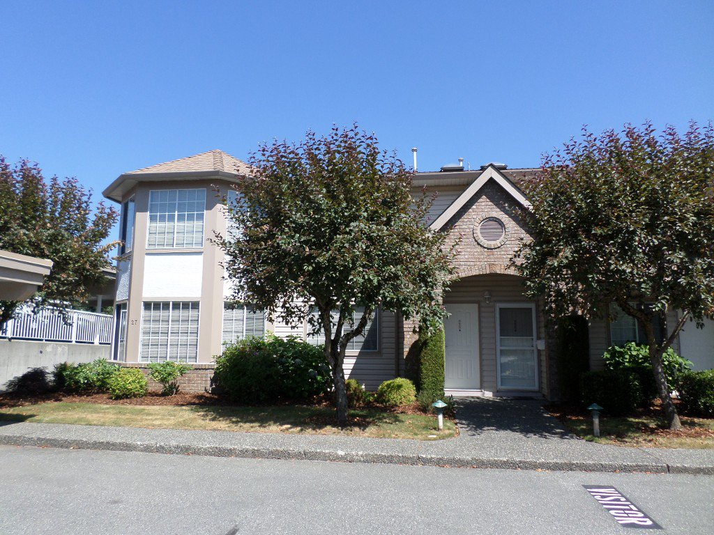 Main Photo: 28 3110 Trafalgar in Abbotsford: Central Abbotsford Townhouse for sale : MLS®# R2191985