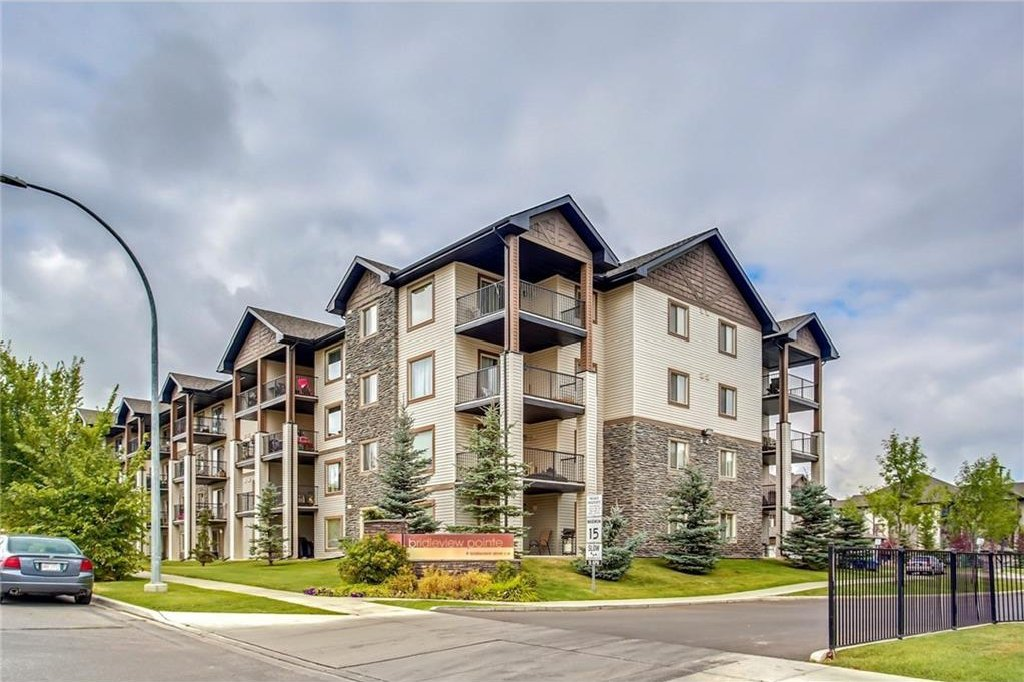 Main Photo: 1423 8 BRIDLECREST Drive SW in Calgary: Bridlewood Condo for sale : MLS®# C4138425