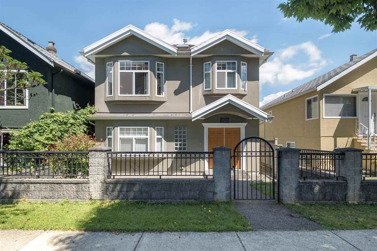 Main Photo: 2521 PARKER Street in Vancouver: Renfrew VE House for sale (Vancouver East)  : MLS®# R2286012