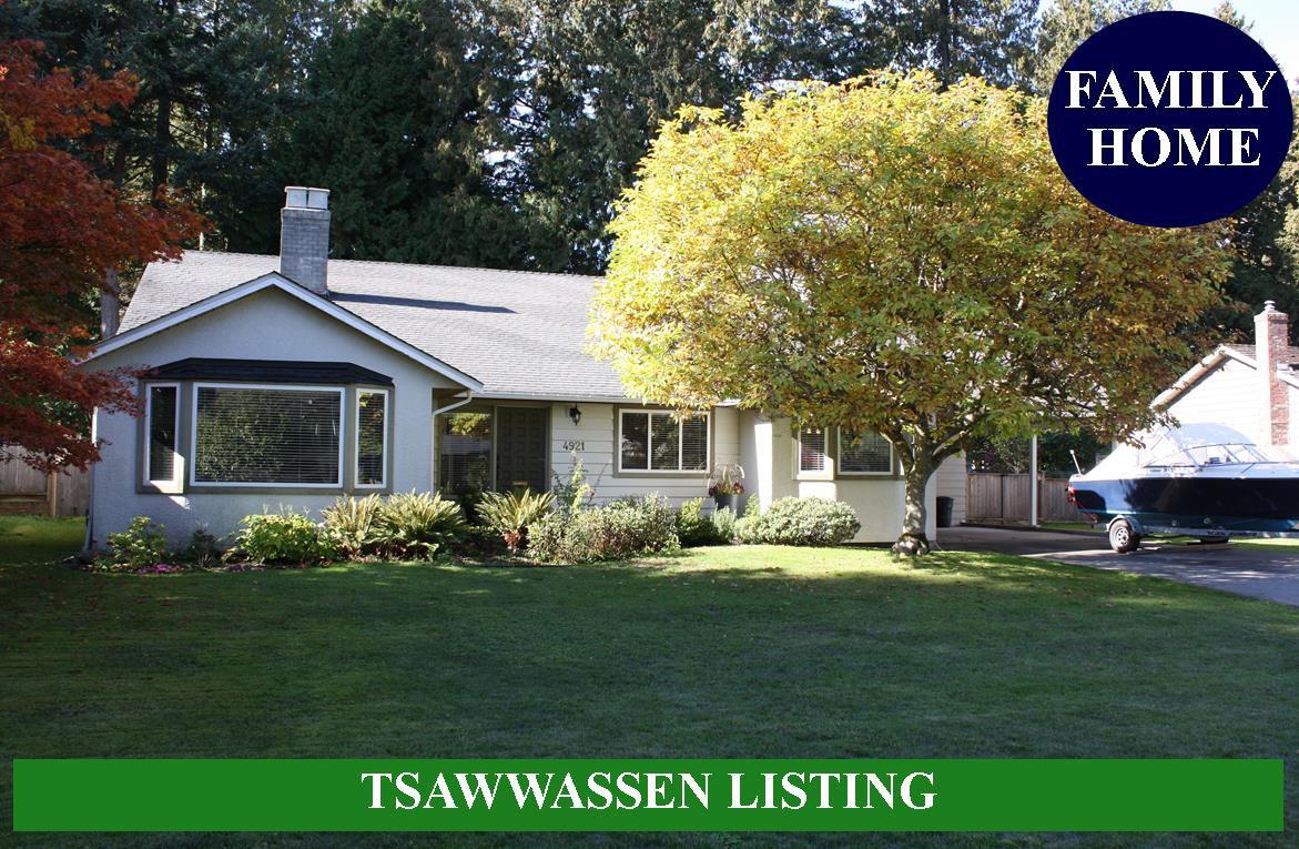 Main Photo: 4921 STEVENS Drive in Delta: Tsawwassen Central House for sale (Tsawwassen)  : MLS®# R2312507