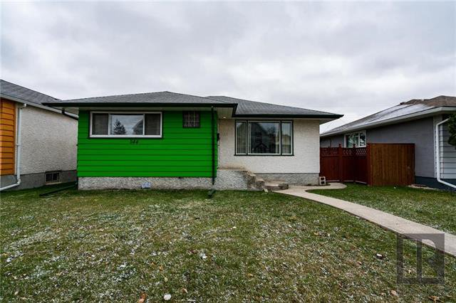 Main Photo: 544 Bowman Avenue in Winnipeg: Residential for sale (3A)  : MLS®# 1827763