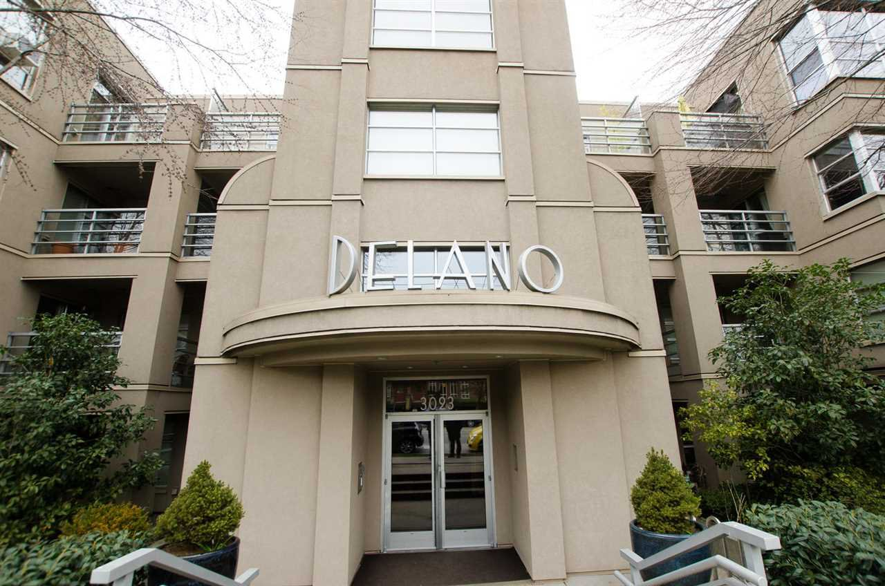"Main Photo: 108 3083 W 4TH Avenue in Vancouver: Kitsilano Condo for sale in ""DELANO"" (Vancouver West)  : MLS®# R2351592"