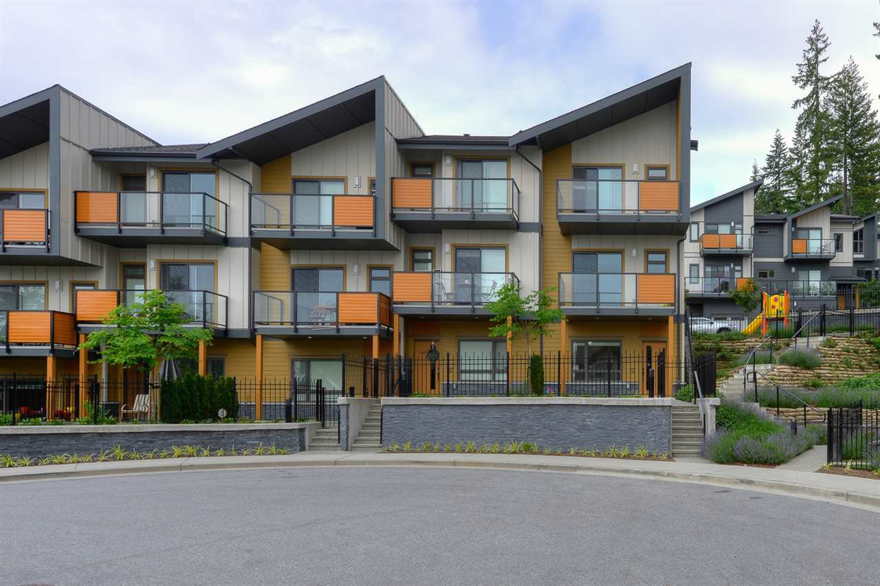 """Main Photo: 110 3525 CHANDLER Street in Coquitlam: Burke Mountain Townhouse for sale in """"WHISPER"""" : MLS®# R2398617"""