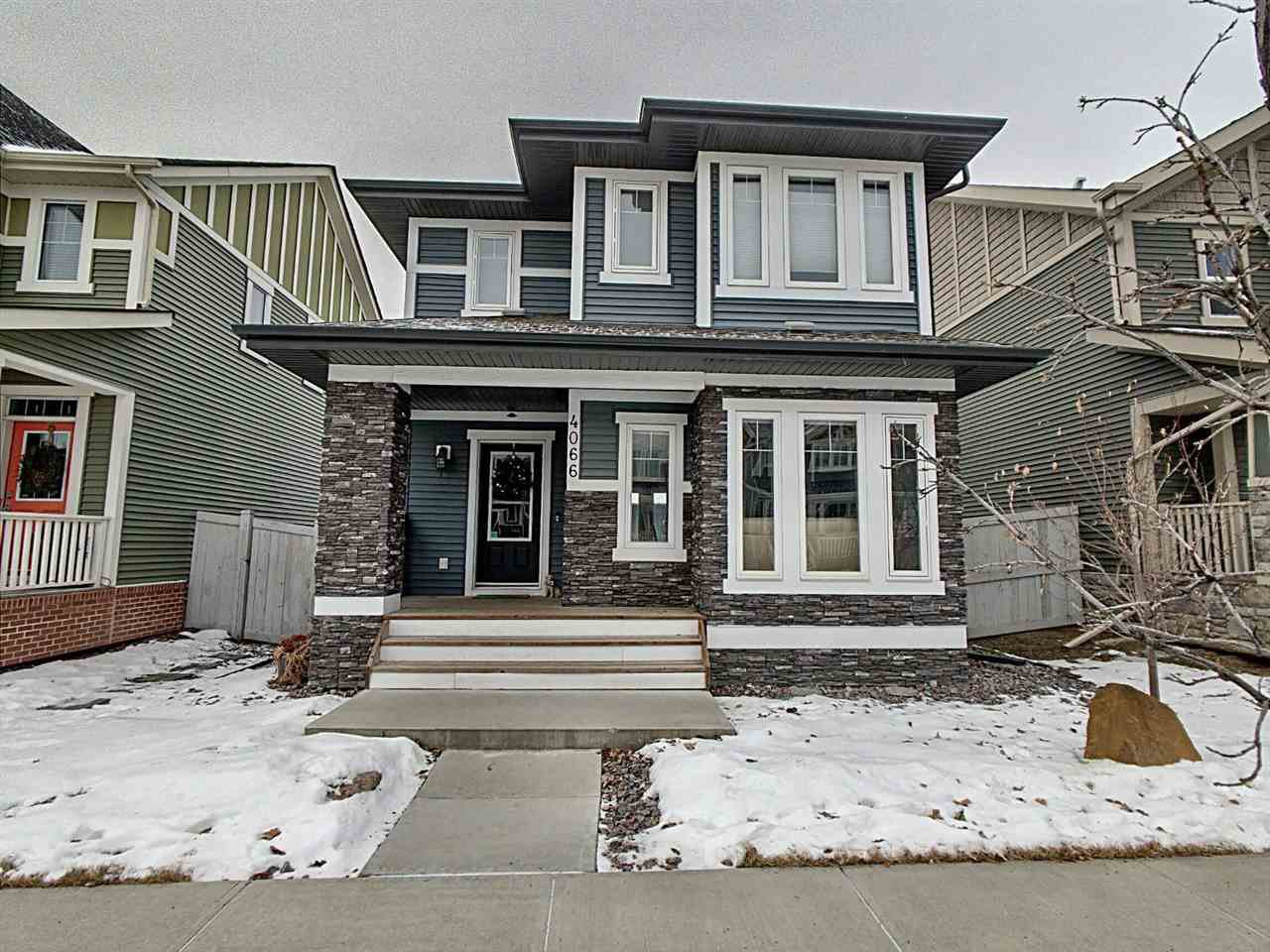 Main Photo: 4066 MORRISON Way in Edmonton: Zone 27 House for sale : MLS®# E4223156