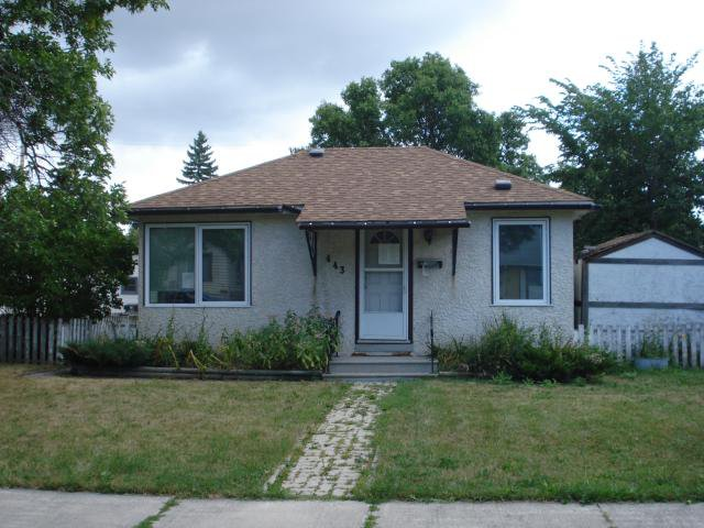 Main Photo: 443 RUTLAND Avenue in WINNIPEG: St James Residential for sale (West Winnipeg)  : MLS®# 1116802