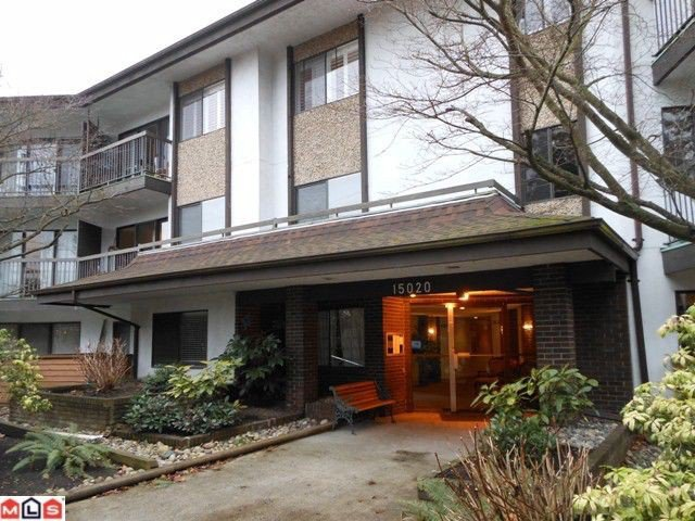 "Main Photo: 115 15020 N BLUFF Road: White Rock Condo for sale in ""North Bluff Village"" (South Surrey White Rock)  : MLS®# F1200400"