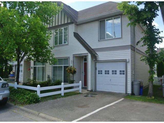 "Main Photo: 6433 ROSEBURY Lane in Surrey: Cloverdale BC Townhouse for sale in ""ROSEBURY LANE"" (Cloverdale)  : MLS®# F1432797"