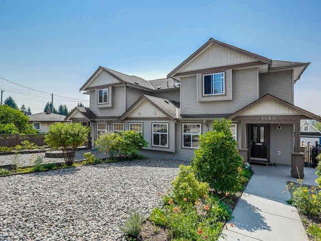 Main Photo: 1060 QUADLING Avenue in Coquitlam: Maillardville House 1/2 Duplex for sale : MLS®# V1139275