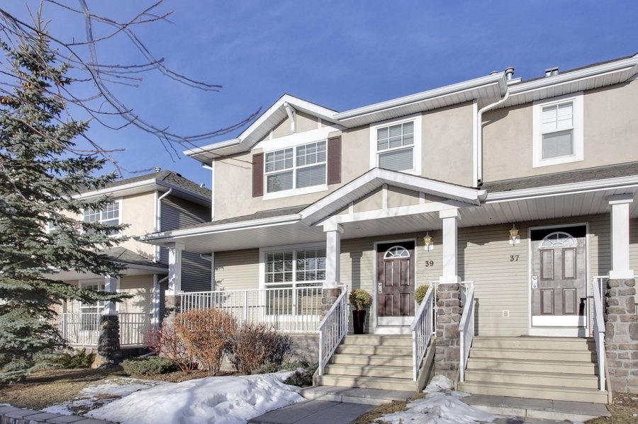 Main Photo: 39 West Springs Gate in Calgary: Duplex for sale : MLS®# C3601004