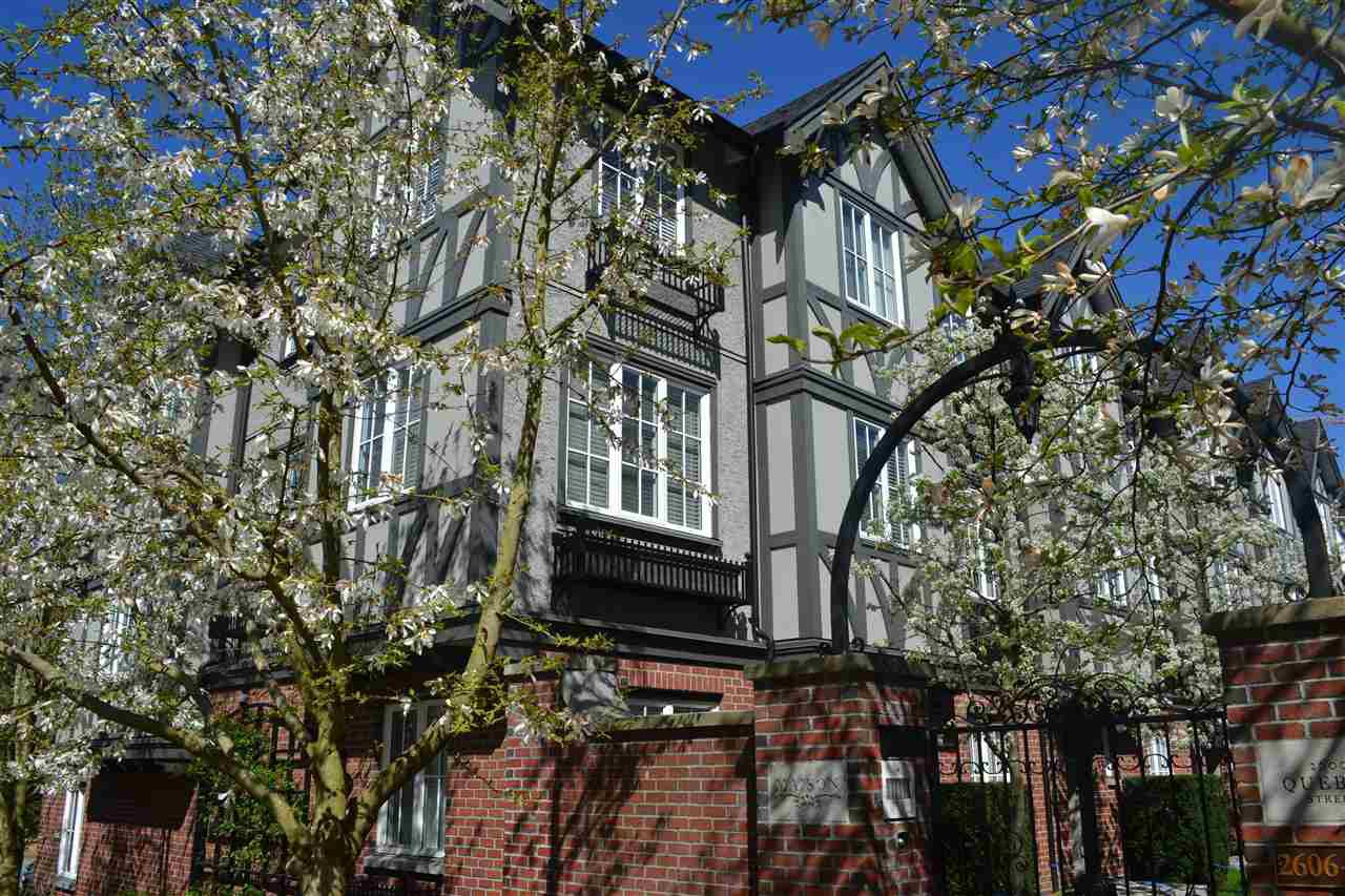 "Photo 2: Photos: 2606 QUEBEC Street in Vancouver: Mount Pleasant VE Townhouse for sale in ""MAISON"" (Vancouver East)  : MLS®# R2161356"