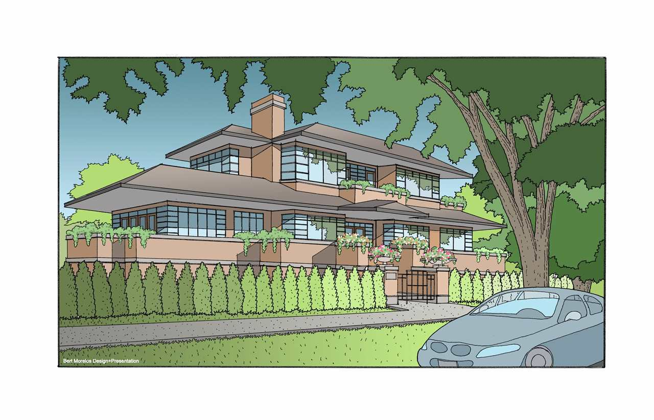 Conceptual Rendering of Newly Built Home
