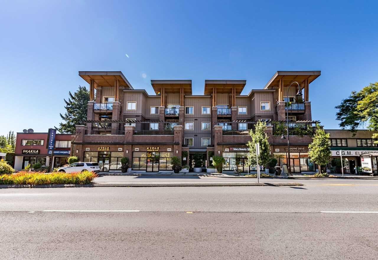 Main Photo: 305 1273 MARINE DRIVE in North Vancouver: Norgate Condo for sale : MLS®# R2197657