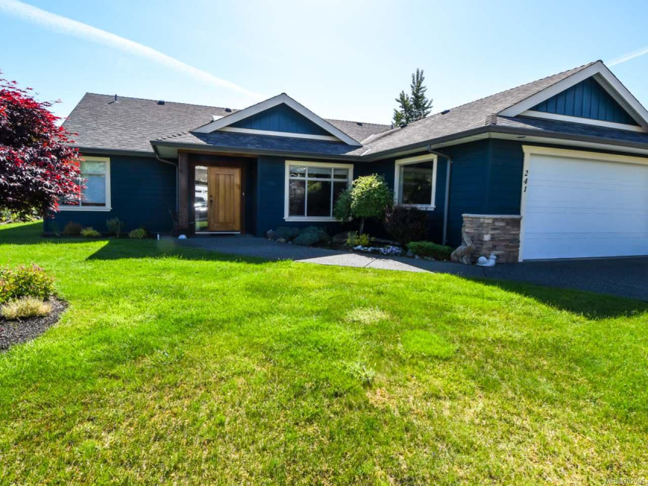 Main Photo: 241 Marie Pl in CAMPBELL RIVER: CR Willow Point House for sale (Campbell River)  : MLS®# 782605